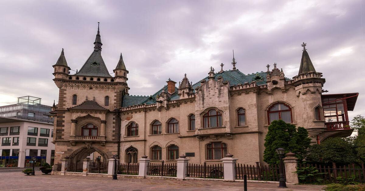 Jakab Palace in Kosice — Slovakia