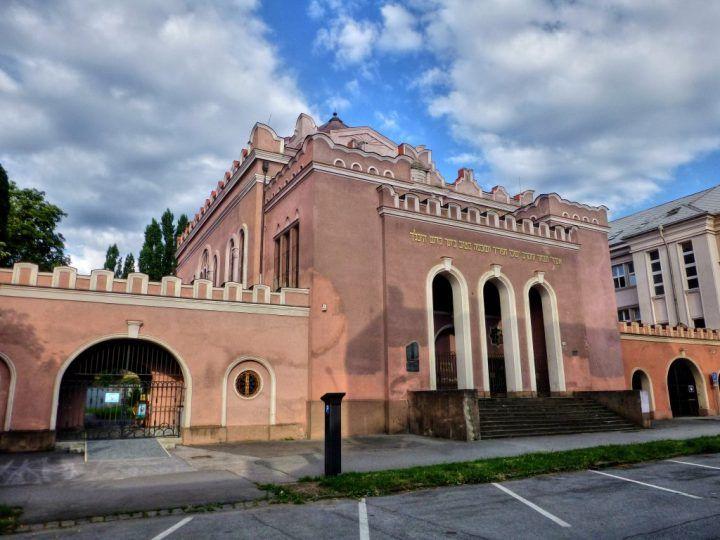 Новая синагога в Кошицах
