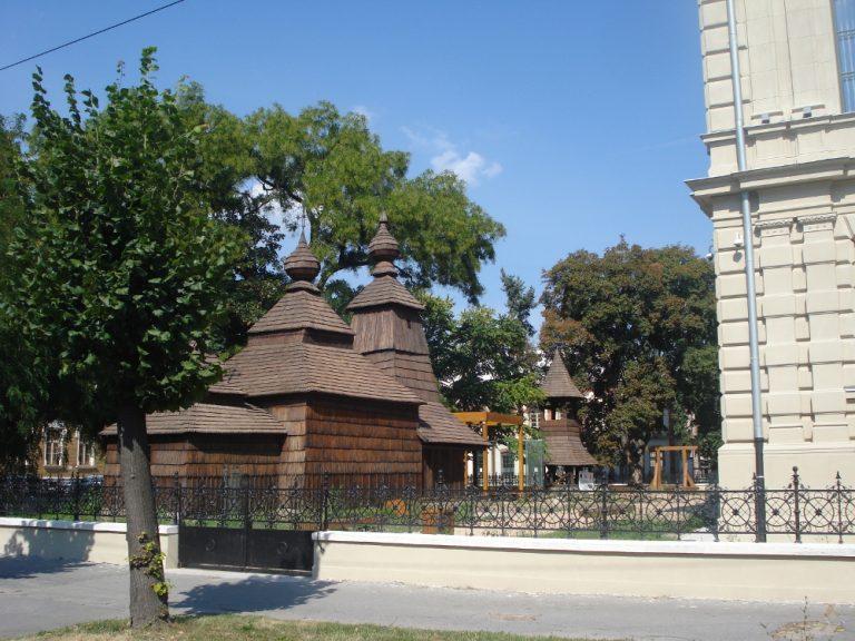 Деревянная церковь из Кожуховца