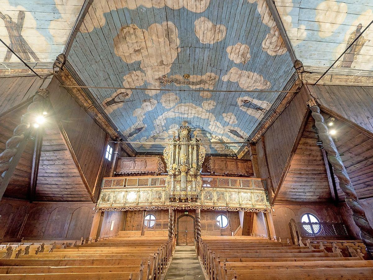 Деревянные церкви словацкой части Карпат