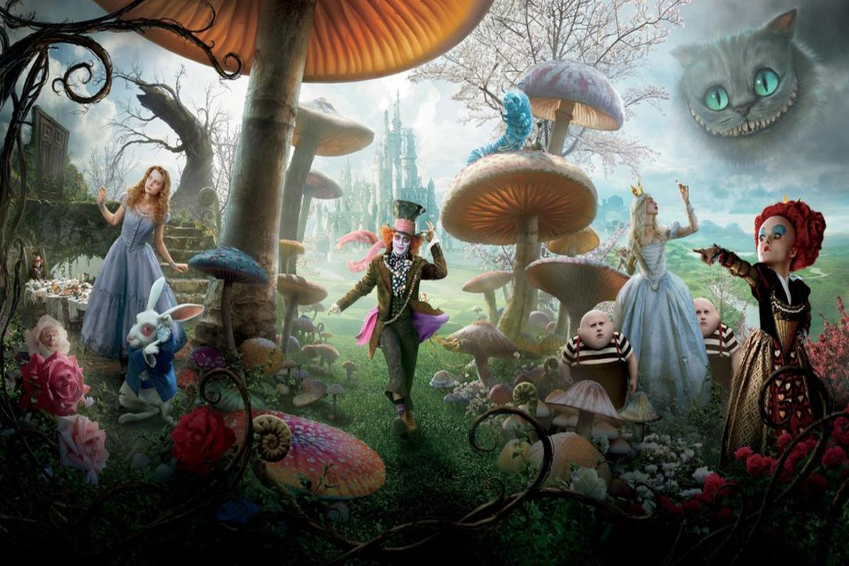 Алиса в Стране Чудес в замке Червени Камень