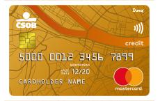 csob mastercard debetnakarta gold