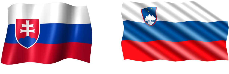 Slovakia and Slovenia