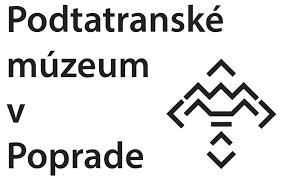 logo podtatranské múzeum v poprade