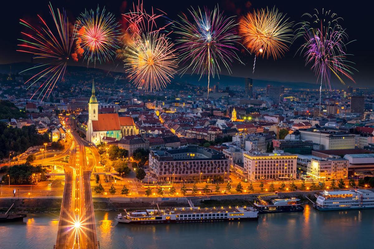 The nightlife in Bratislava
