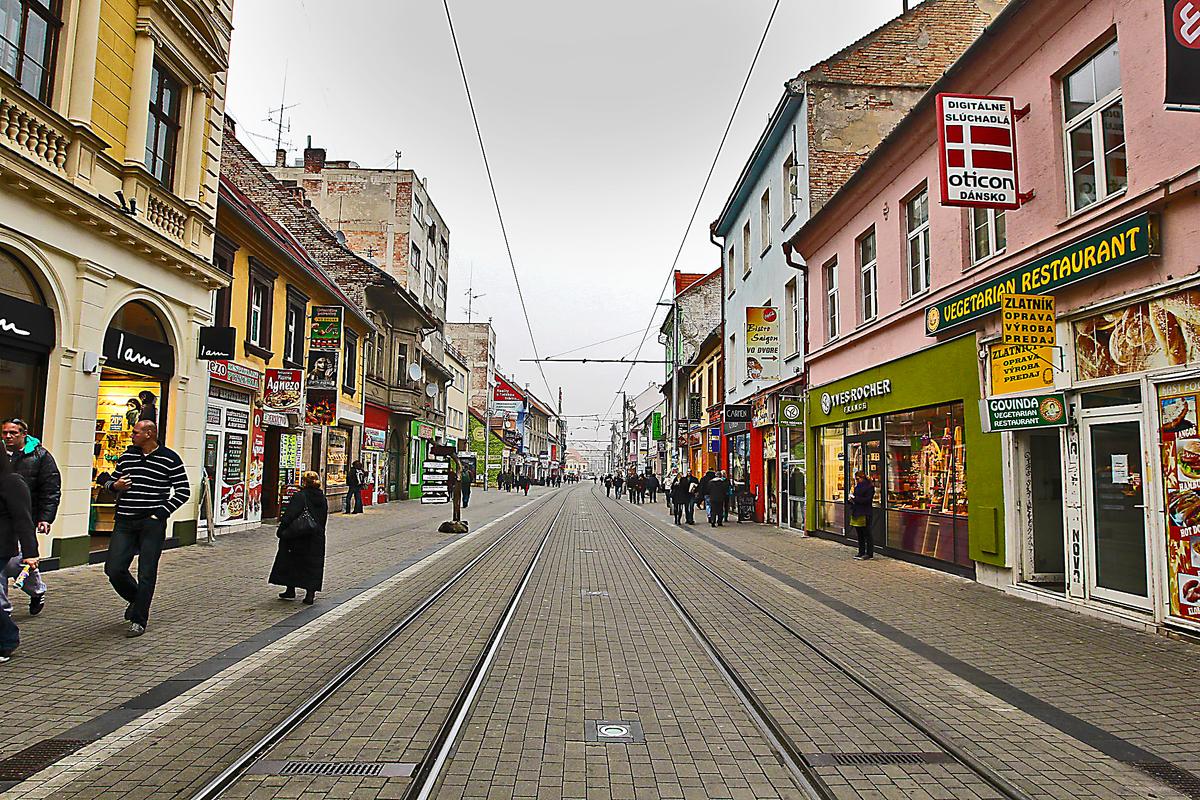 """Nakupovanie, """"šoping"""" v Bratislave"""