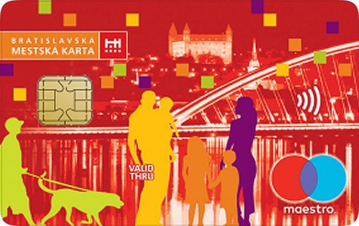 Poštová banka - Bratislava City Card