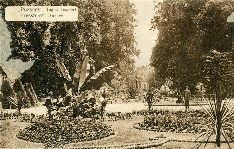 Janka Krala garden