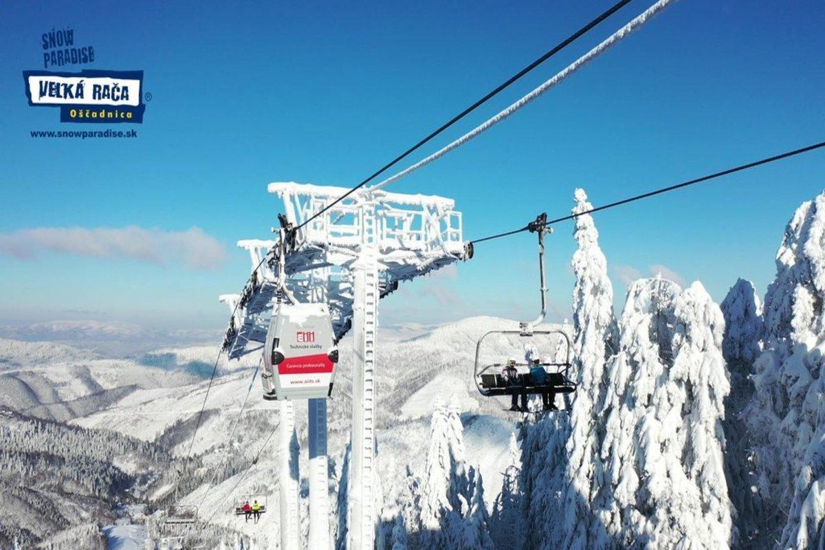 Снежный Рай Велька Рача