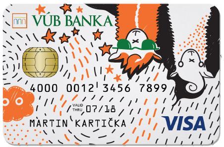 vub banka karta pre mladých